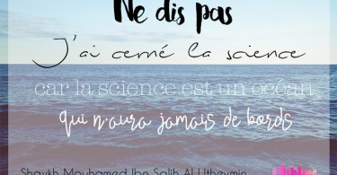 j'ai cerné la science