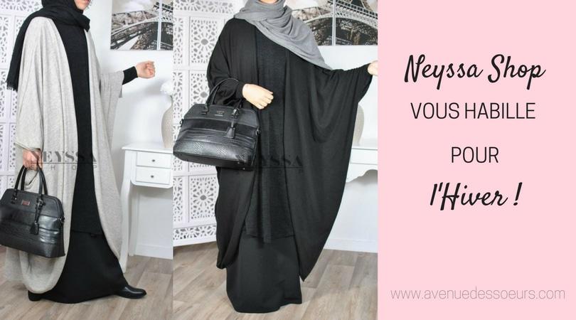 Vêtements chauds et mastour, Neyssa Shop vous habille pour l'hiver !
