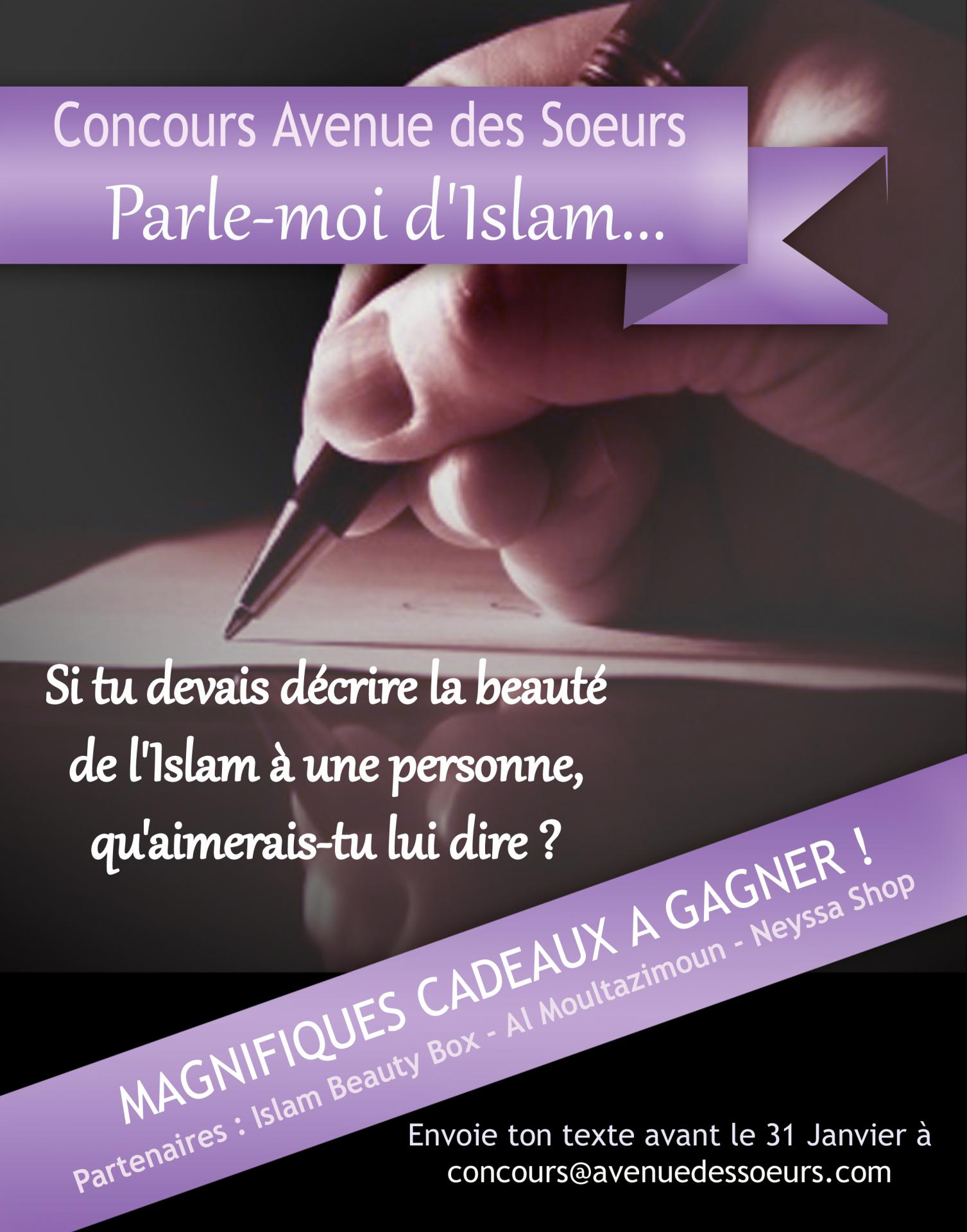 "Concours ""Parle-moi d'Islam"""