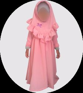 test abaya avec hijab pour petite fille al moutazimoun
