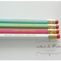 Ensemble de crayons - Autour du Kitab