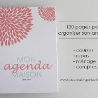 Mon agenda maison - Magdori