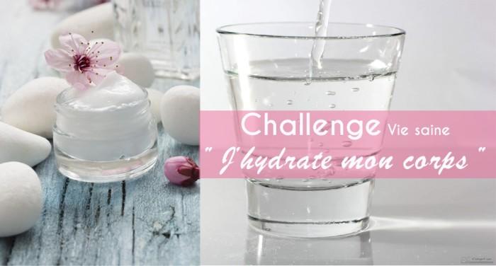 Boire de l'eau : relevez le défi !
