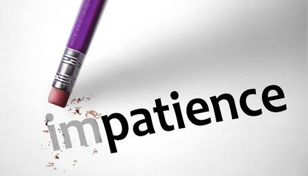 La patience, la clé de la réussite
