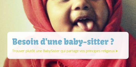 MyBabySister, trouvez votre baby-sitter musulmane