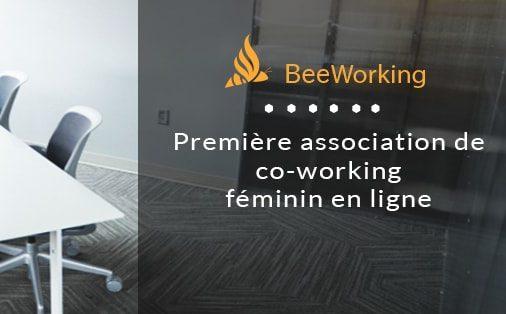 Bee Working, co-working féminin en ligne