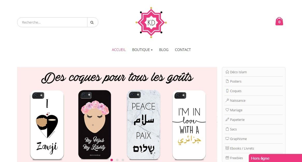 Kariizma Design, décoration et cadeaux islamiques