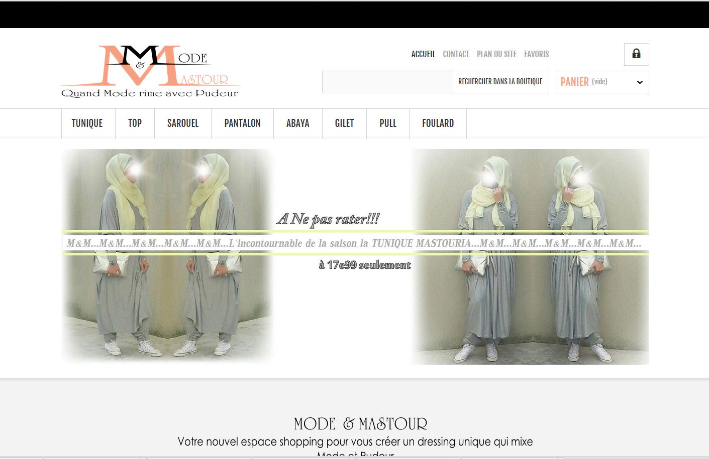 Mode et Mastour