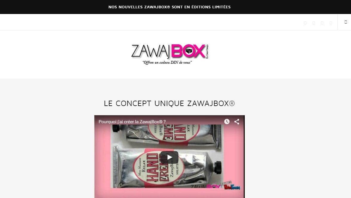 Zawajbox, un cadeau « din » de vous !