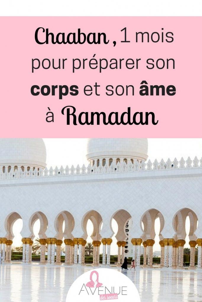 chaaban, un mois pour préparer son corps et son âme a Ramadan