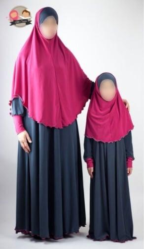 abaya mère-fille