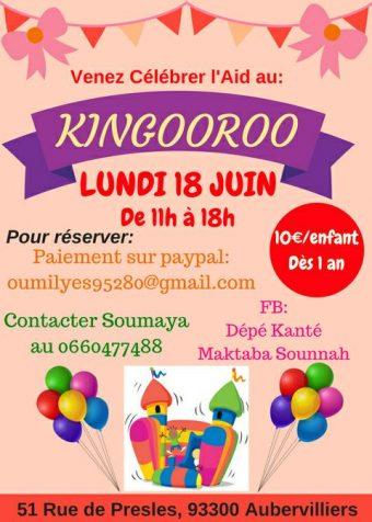 Fête de l'Aïd au Kingooroo (93)