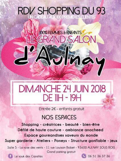 Le grand salon d'Aulnay (93)