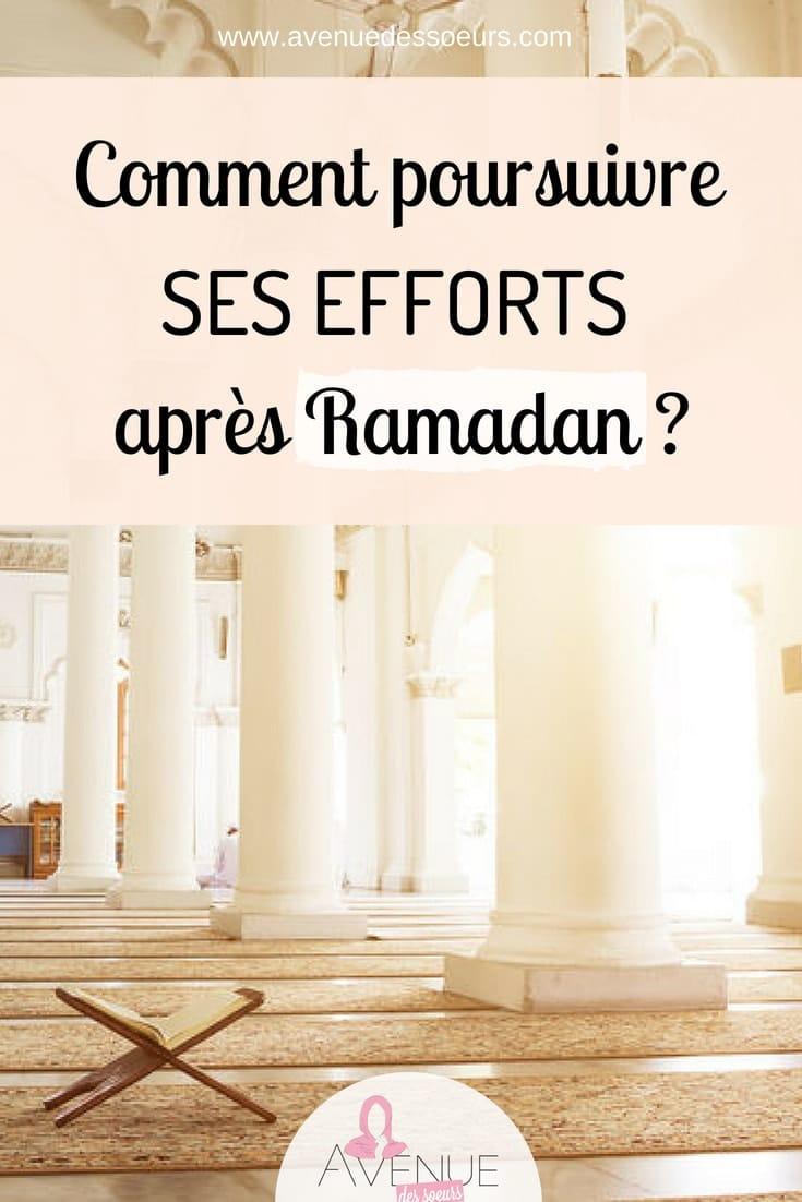 comment poursuivre ses efforts après Ramadan-min