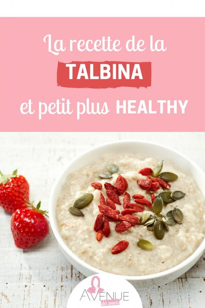recette talbina healthy