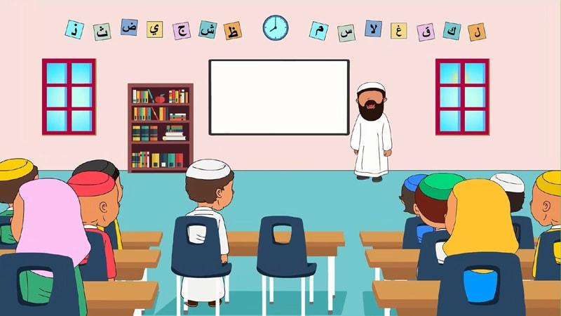 Enfin des cours de Aquida pour nos enfants avec Dini !