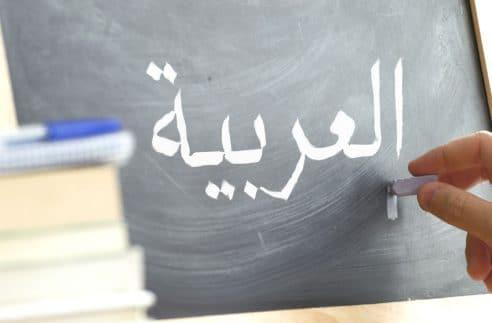 cours d'arabe en ligne